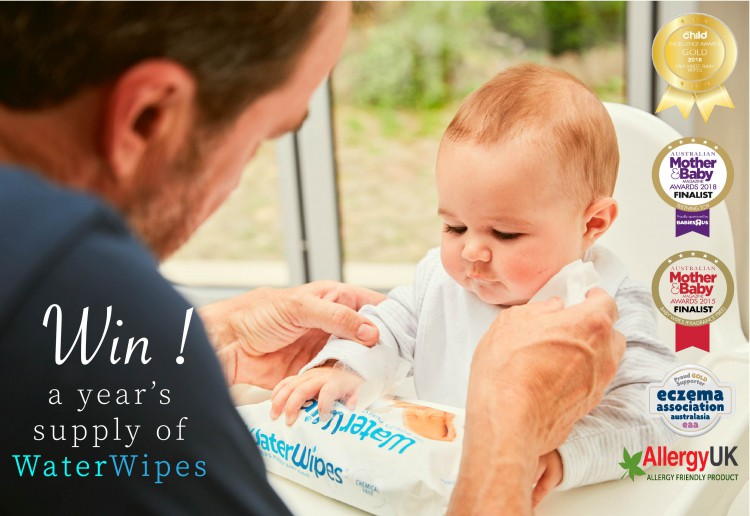 Win A Year's Supply Of WaterWipes