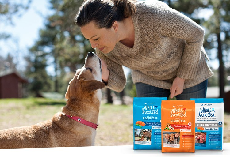 WholeHearted Chicken and Pea Dog Food