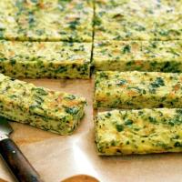 Parsnip and Zucchini Slice