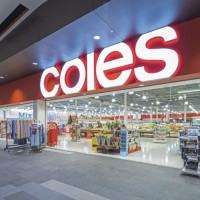 coles last minute shopping