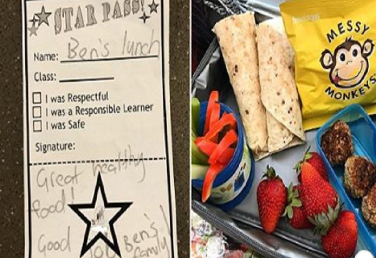 "MrsMcD reviewed Parents Say This Note in Child's Lunchbox is ""Condescending"""
