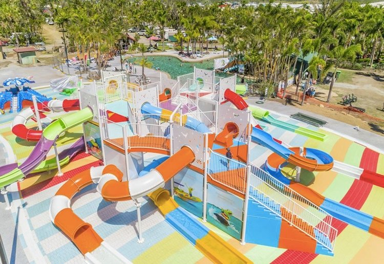 How Awesome Is This Massive Waterpark At This Kid-Friendly Holiday Resort