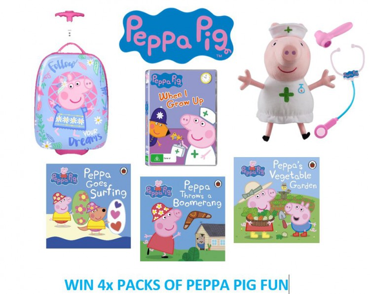 Win An AWESOME Peppa Pig 'When I Grow Up What Will I Be' Prize Pack