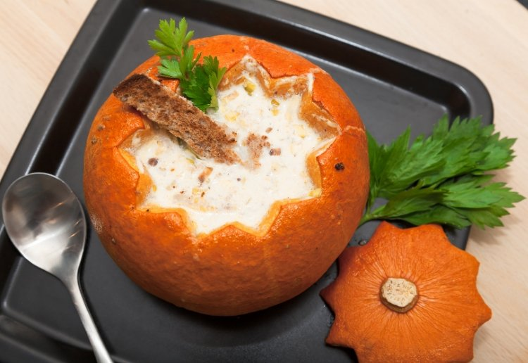 Creepy Chicken Chowder For Halloween