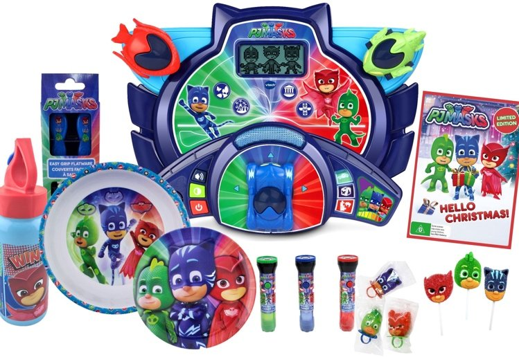 PJ Masks Are On Their Way,  Getting Ready To Save Christmas Day!
