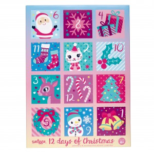 Smiggle Smile 12 Days of Christmas Advent Calendar 2018 $29.95 Jewellery & Accessories