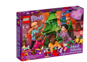 advent lego friends