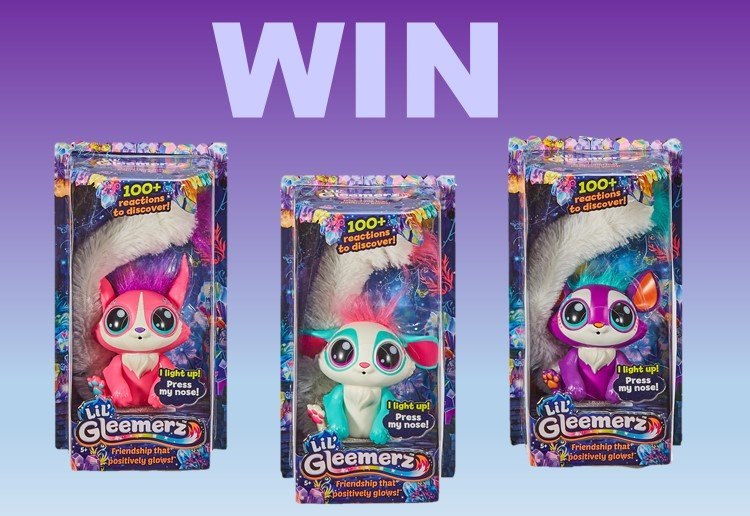 WIN 1 of 25  Lil' Gleemerz Toys From Mattel!