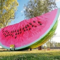 Forget The Big Banana - Now There's A Big Watermelon To Visit!