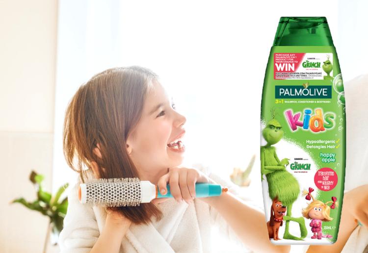 Palmolive Kids 3 in 1 Happy Apple Shampoo Conditioner & Bodywash