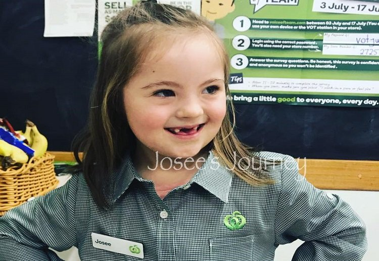 natct reviewed Little Girls Woolworths Birthday Party Earns Her a Job