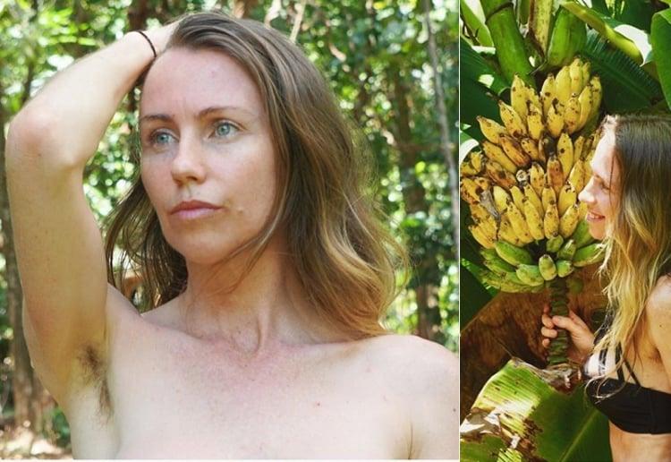 Freelee The Banana Girl Hits Back At Critics Of Her 'Nude Jungle' Life