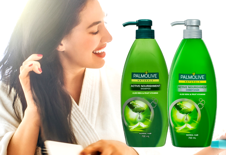 Marissa reviewed Palmolive Naturals Active Nourishment Shampoo and Conditioner