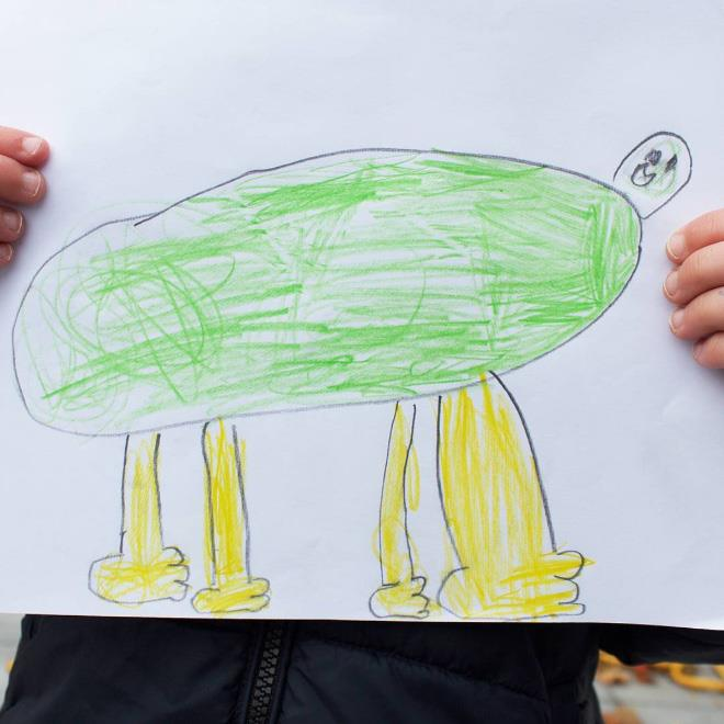 Real Life Drawings From Dad 14