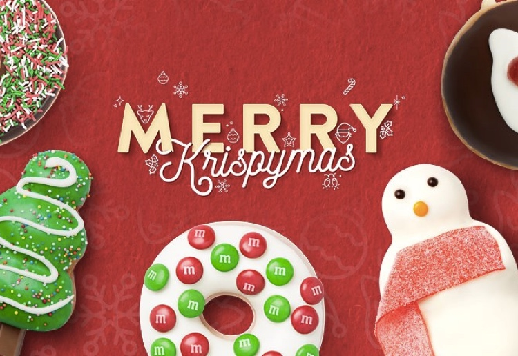 Win A Box Of Krispy Kreme Doughnuts To Celebrate Krispymas