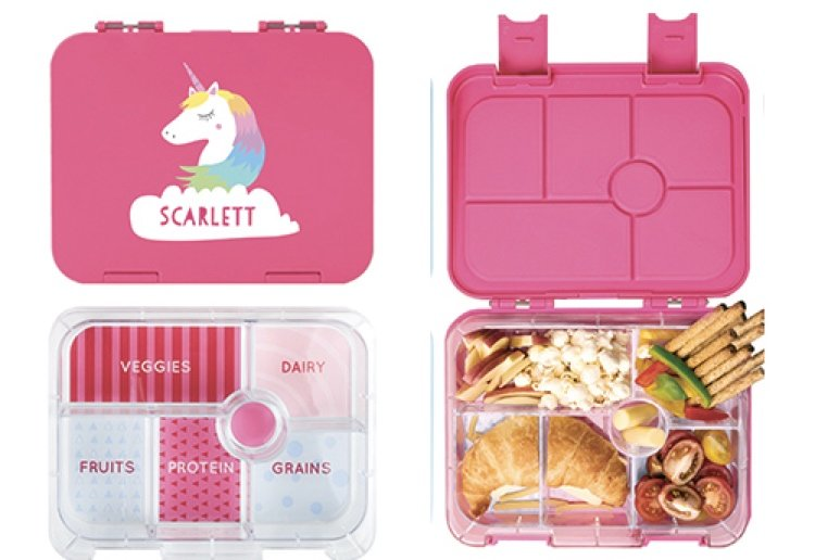 mamamarch reviewed WIN 1 of 8 Stuck On You 3-Piece Bento Boxes For Back To School
