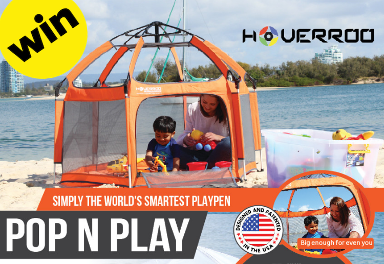 sarahr6 reviewed WIN 1 of 3 World's Most Convenient Playpens from Hoverroo Valued at $399