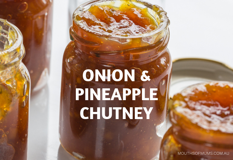 Onion and Pineapple Chutney