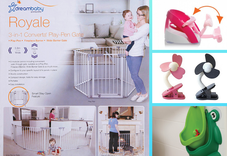 fordleeanne reviewed Win 1 of 2 DREAMBABY® Big W Prize Packs valued at $275.75 each.