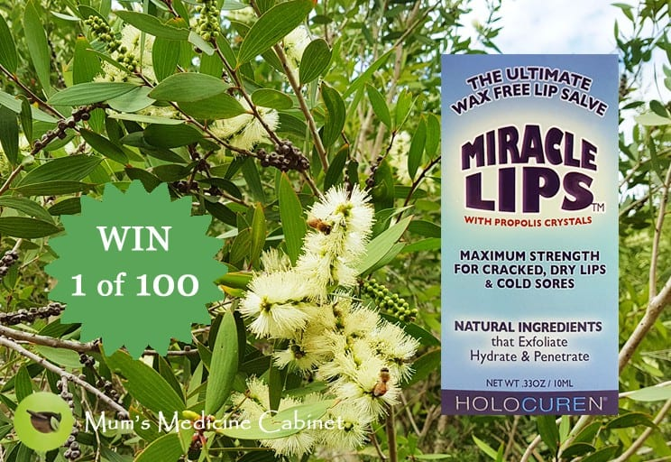 mom356640 reviewed WIN 1 of 100 Miracle Lips™: Wax-Free Salve with Propolis & Tea Tree Oil
