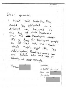 letter to govt