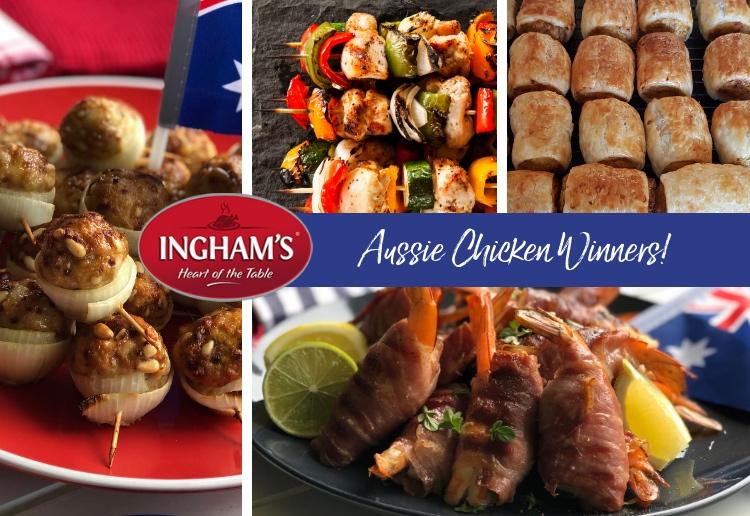 Aussie Chicken Finger Food Winners