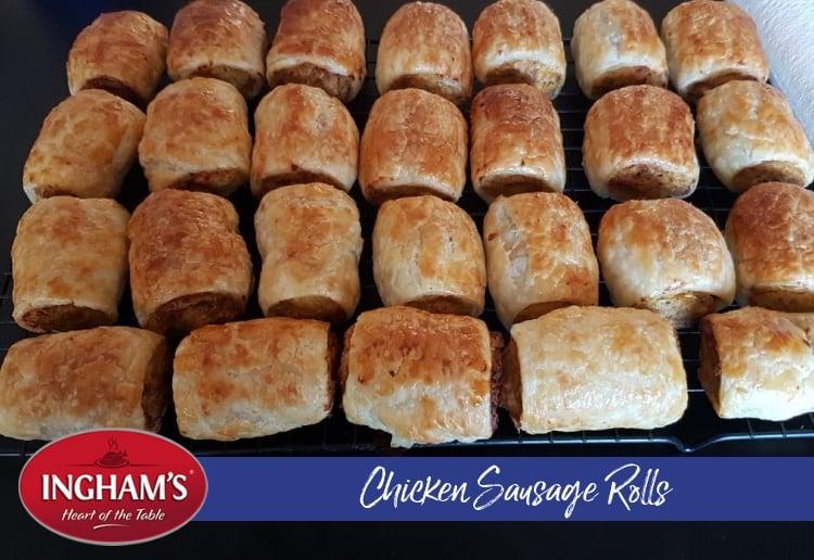chicken sausage rolls recipe main image 750x516