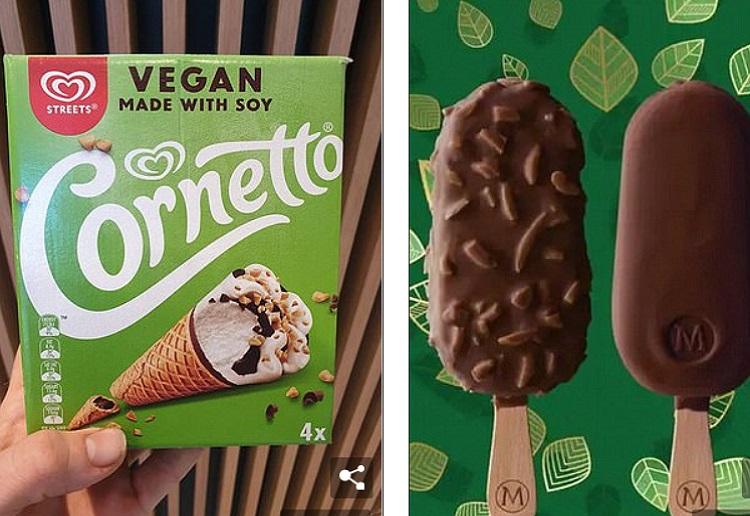 Magnum and Cornetto Ice Cream Go Vegan