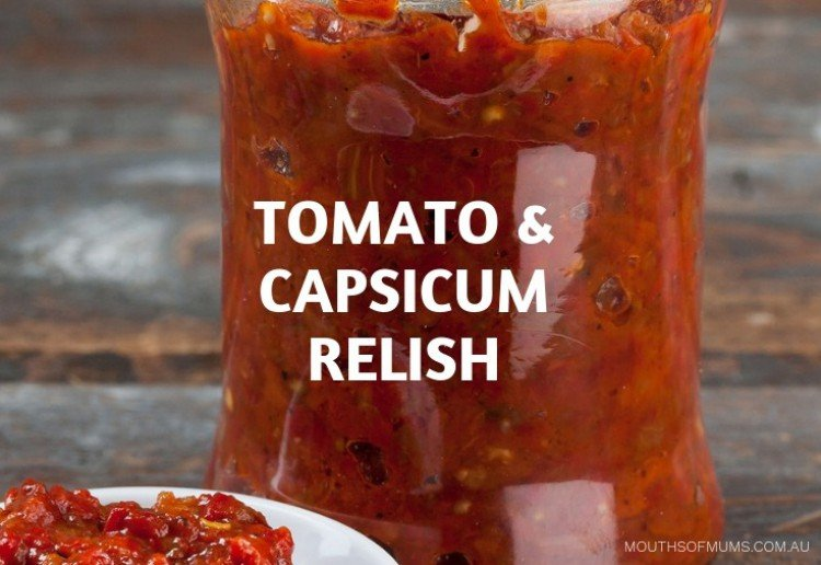 Tomato and Capsicum Relish