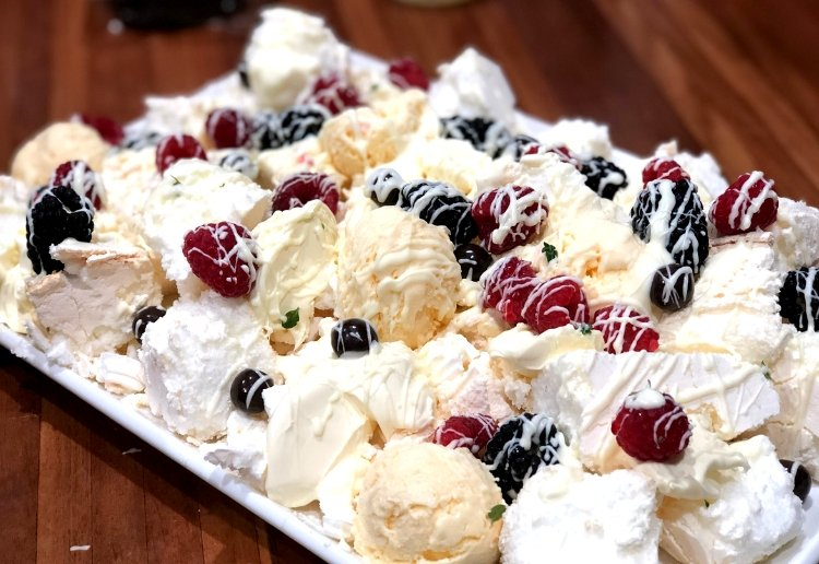 White Choc Berry Eton Mess