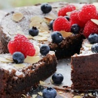 Gluten Free Chocolate Fudge Cake