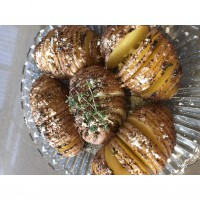Paprika Hasselback Potatoes