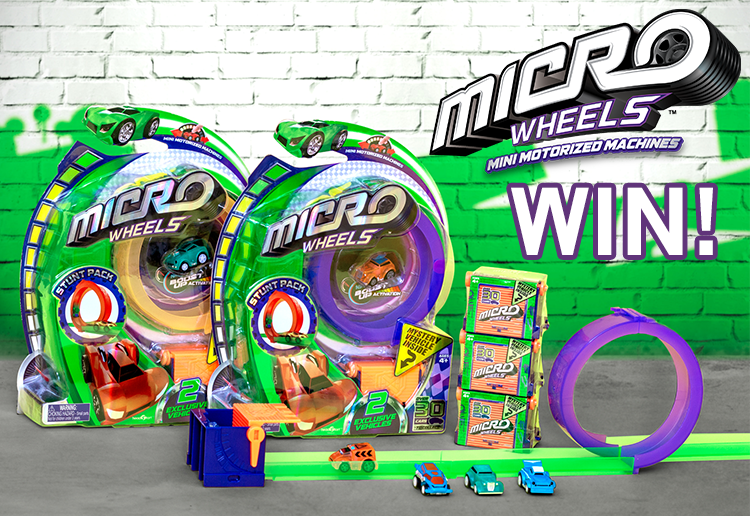 Win A Thrilling Micro Wheels Prize Pack