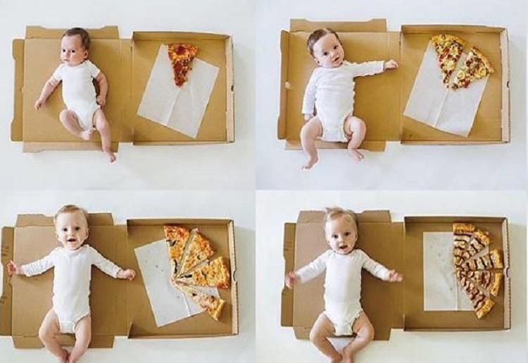 The Cutest Baby Milestone Photo's EVER!