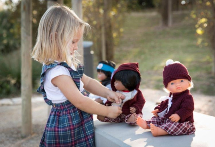 Win A Gorgeous Miniland Doll and Outfit