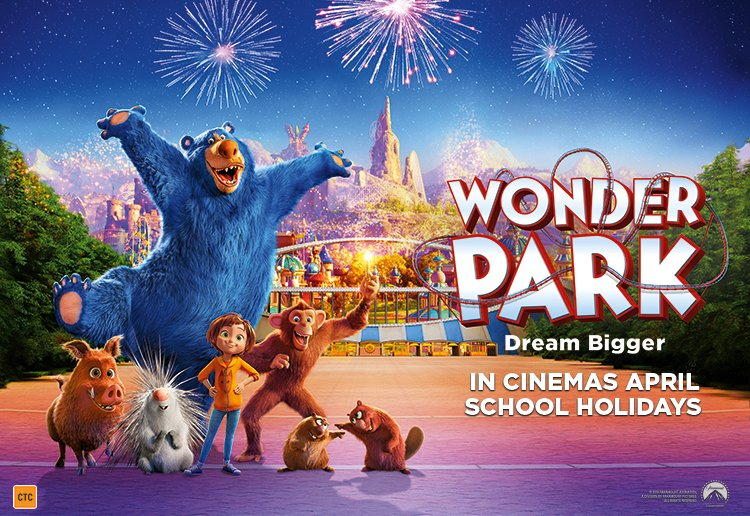 Lizabelle reviewed To Celebrate The Release Of WONDER PARK We Are Giving You The Chance To WIN Tickets