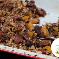 Healthy Almond Granola