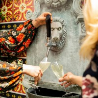 Oh My Bubbles! This Restaurant Has A Bottomless Self Serve Prosecco Fountain!