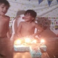 8yr Old Boy Bakes Birthday Cake For Little Brother While Mum Sick in Bed