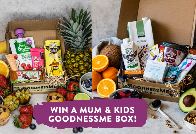 2 different boxes from goodnessme to be won