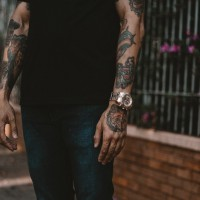 Dad Accused Of Shoplifting Because Of His Tattoos