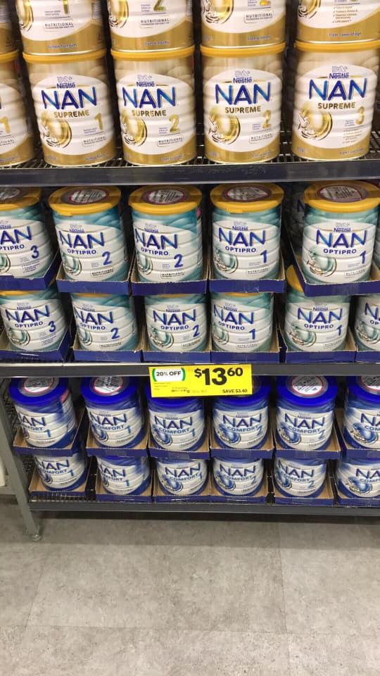 nan formula