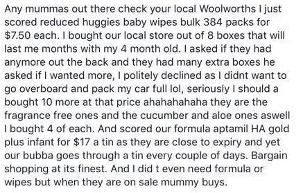 weekly bargain 3