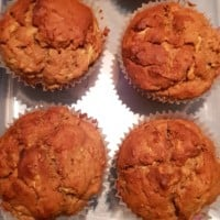 Apple and Zucchini Muffins