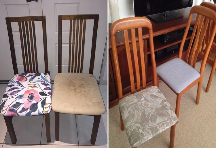 This Mum's DIY Dining Chair Hack Is Easy AND Affordable!
