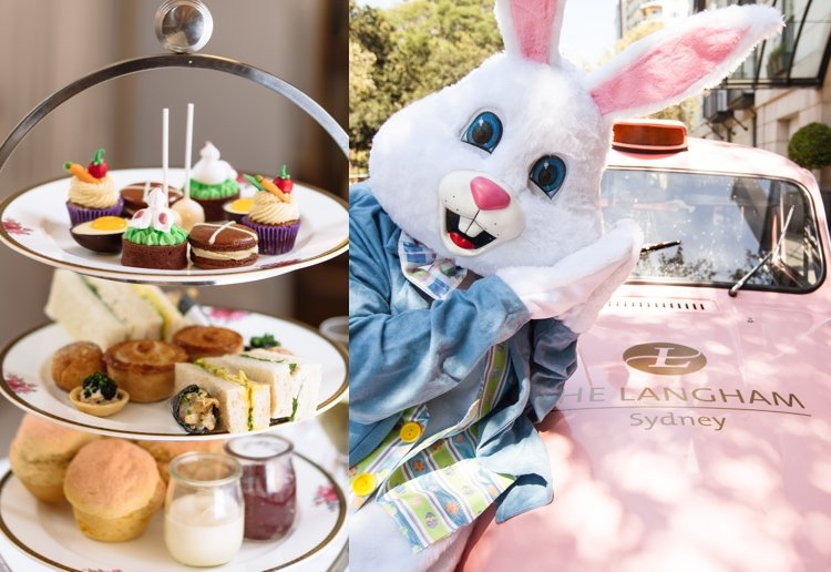 mom259467 reviewed Hop Into Easter With The Langham, Sydney's Tale of Mr Rabbit Afternoon Tea
