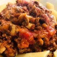 Spaghetti Bolognese with Extra Veg