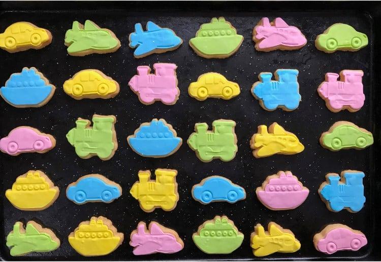 Fondant Malt Cookies for Kids