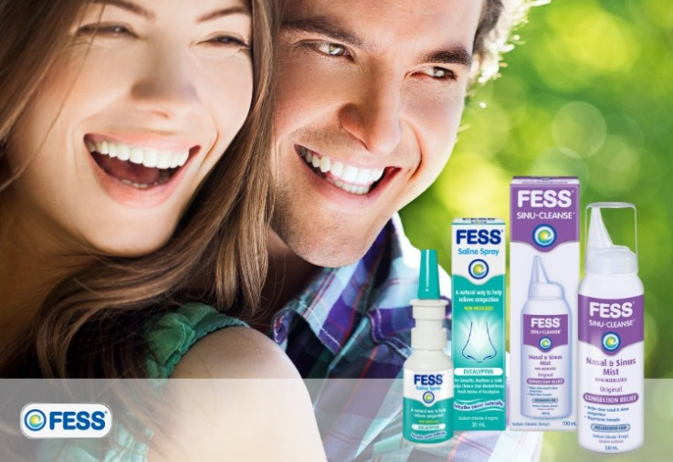 FESS Review image featuring a happy man and woman