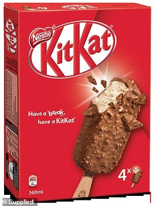 kitkat icecream
